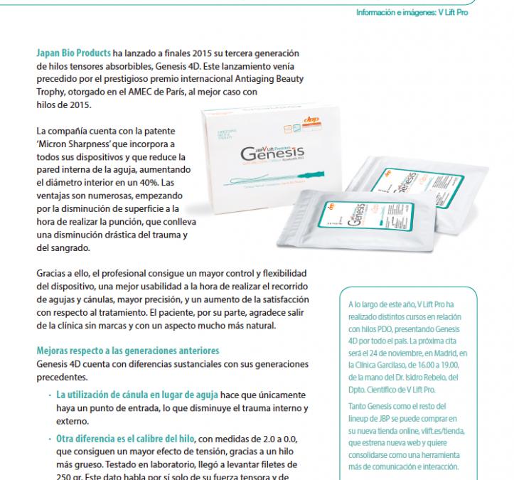 Genesis 4D, biolifting eficaz